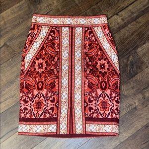 Ann Taylor Loft Skirt Sz 00P